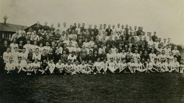 Group image of the Polytechnic Harriers Athletic Club